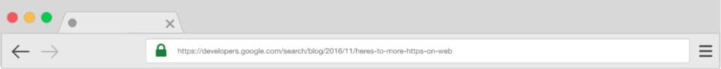Google Chrome  HTTPS Padlock